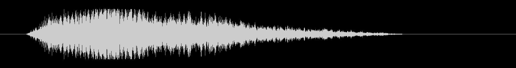 レーザー音-49-3の未再生の波形