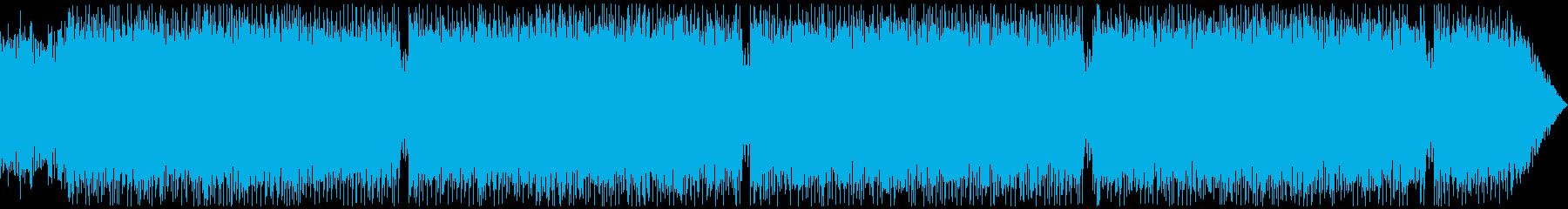通常戦闘・サイバーファンタジー系STGの再生済みの波形