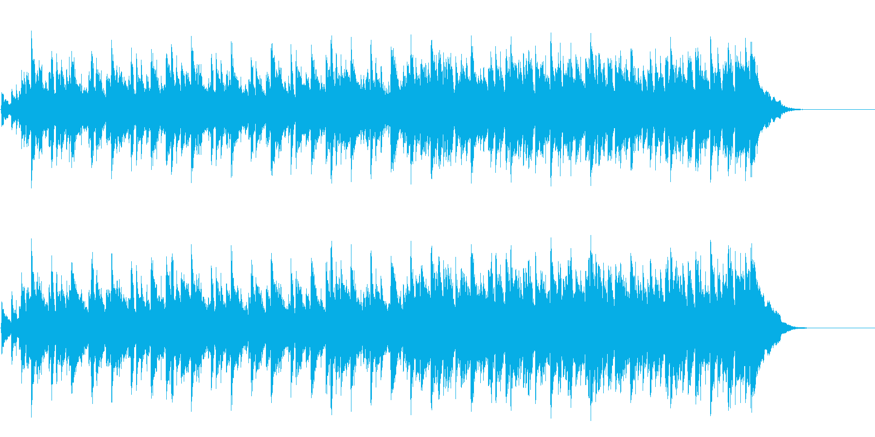 落ち着いたアンニュイミディアムポップスの再生済みの波形