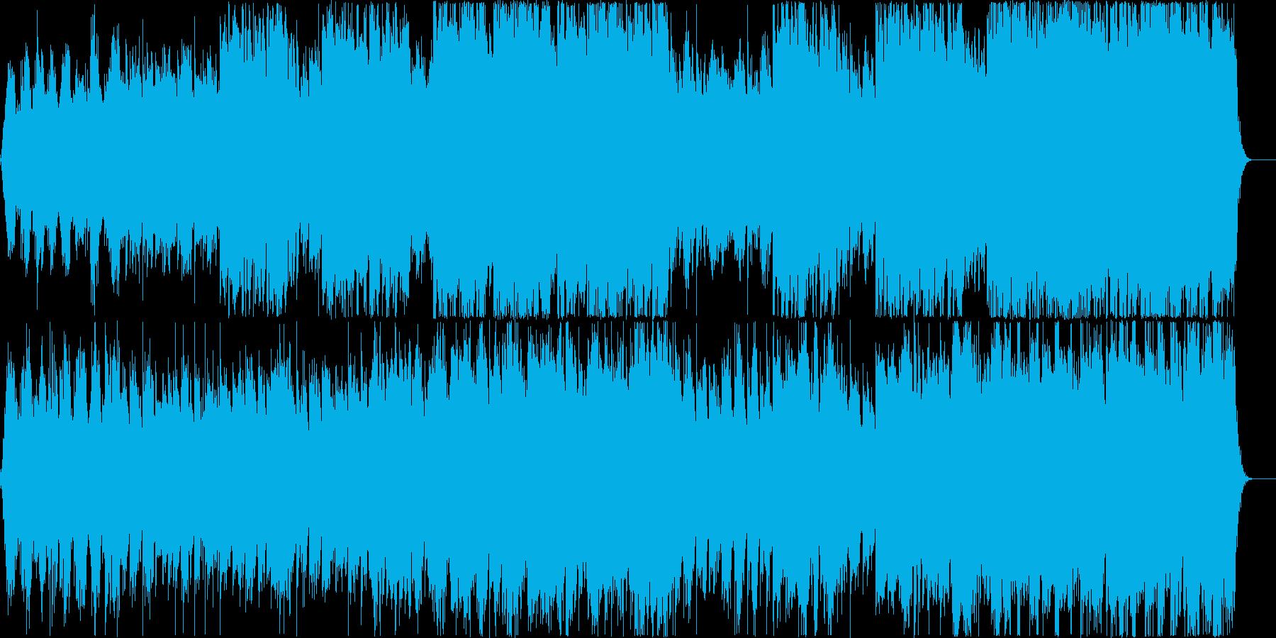 眠るように癒されるアンビエントなフルートの再生済みの波形