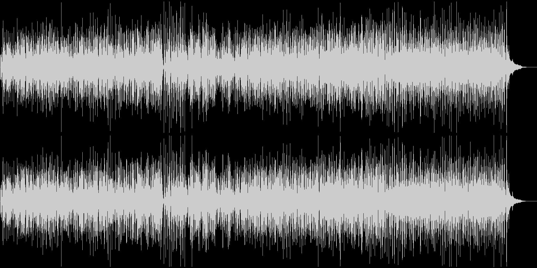 甘い音色の落ち着いたジャズトラックの未再生の波形