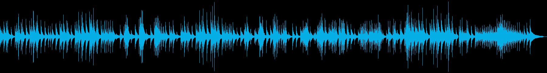 静かに回想するジャズピアノバラードソロの再生済みの波形