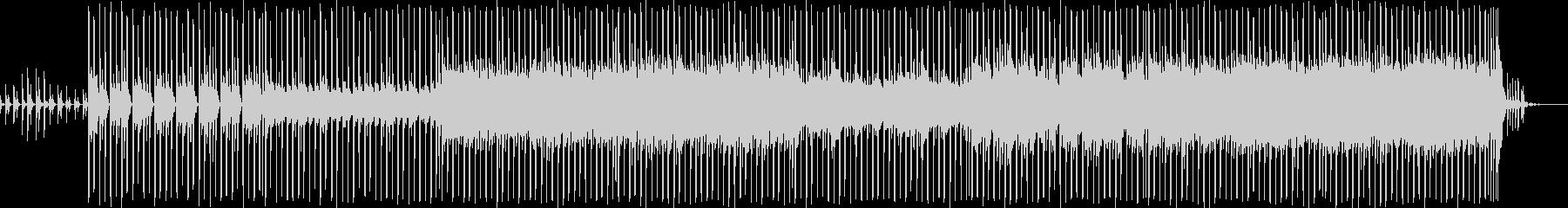 ほのぼのアップテンポな明るいポップの未再生の波形