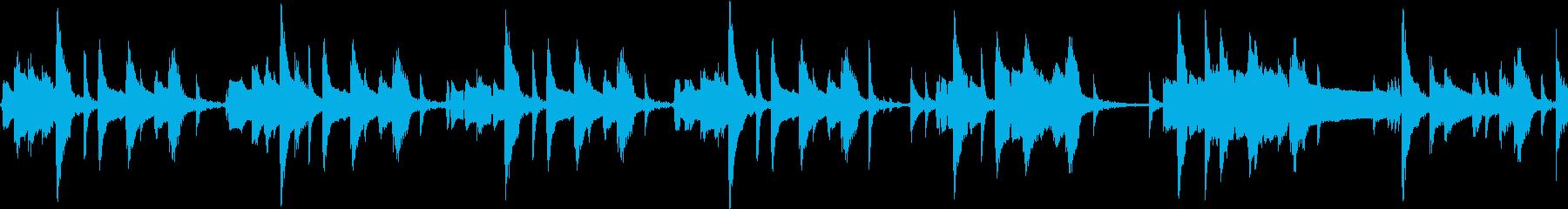 ループ仕様 ジャズなグルメ番組風 速めの再生済みの波形