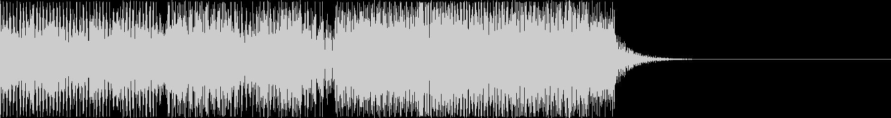 ゲームオーバー![レトロ8bit]1aの未再生の波形