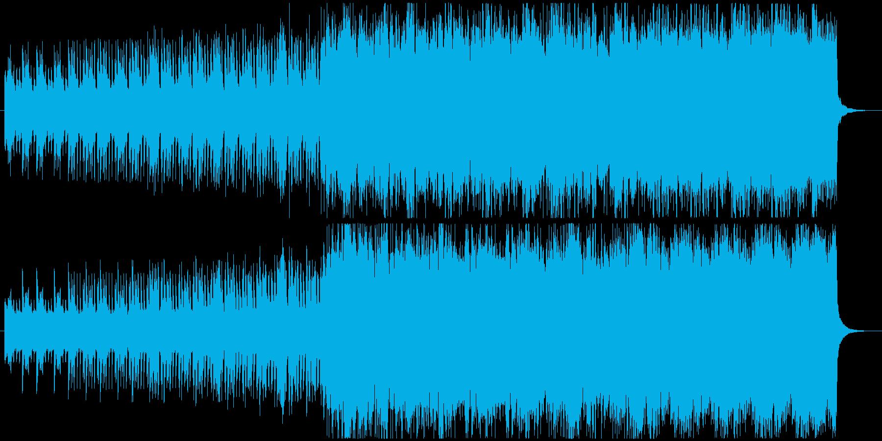 物語の冒頭で使えるオーケストラ曲の再生済みの波形
