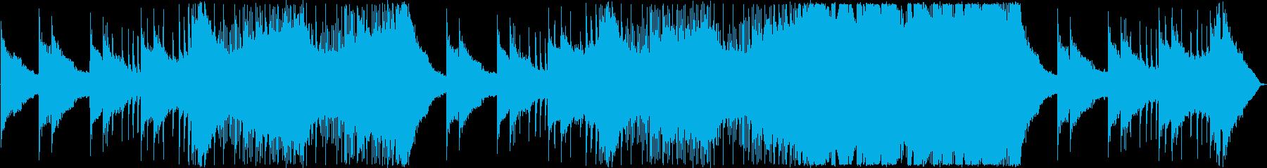 秋の企業VP・優しい夕焼け・アコギポップの再生済みの波形