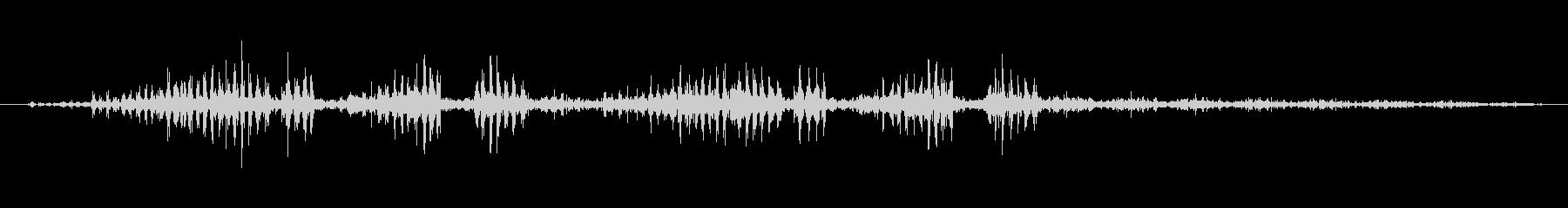 環境音 特撮フラッター03の未再生の波形