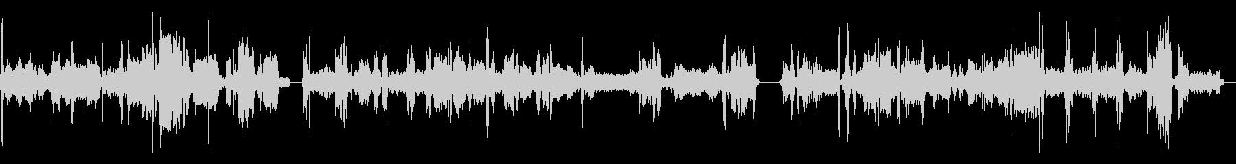 ラジオチューナーFM、チューニングx3の未再生の波形