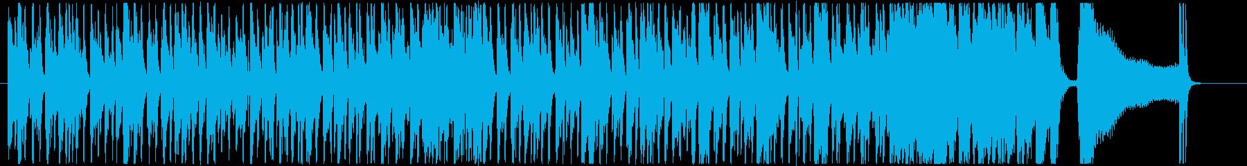 哀愁ただようカントリー調ブルースの再生済みの波形