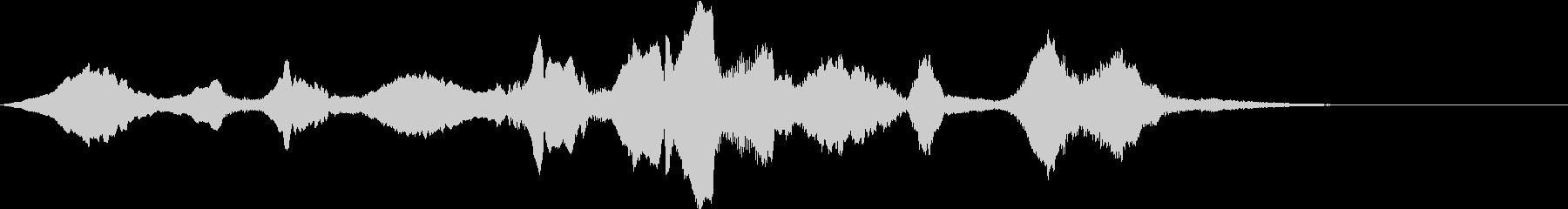 怪しいエスニックなバイオリンのフレーズ1の未再生の波形