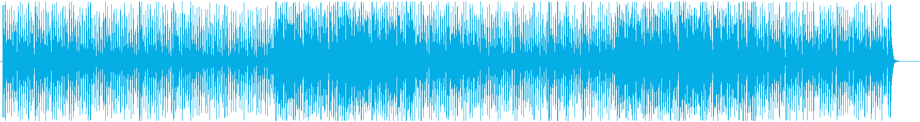 クールな夜にジャズブルース調ポップスの再生済みの波形