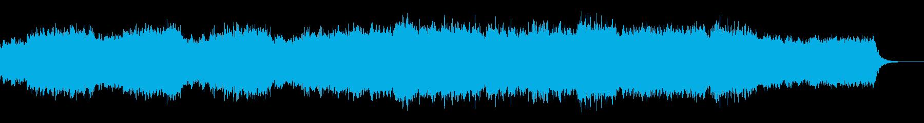 エンディングのハイブリッドオーケストラの再生済みの波形