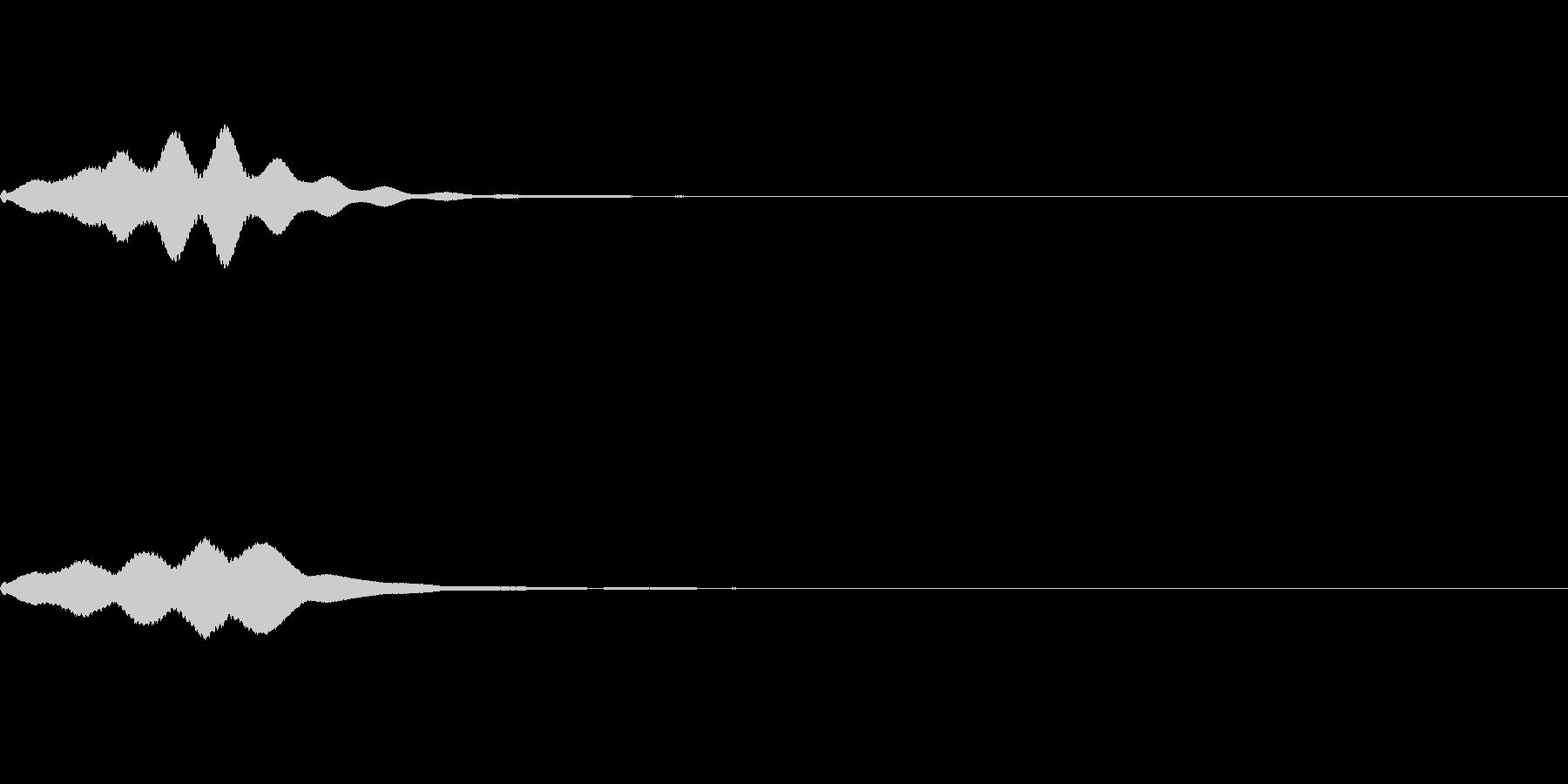 ヒューンの未再生の波形