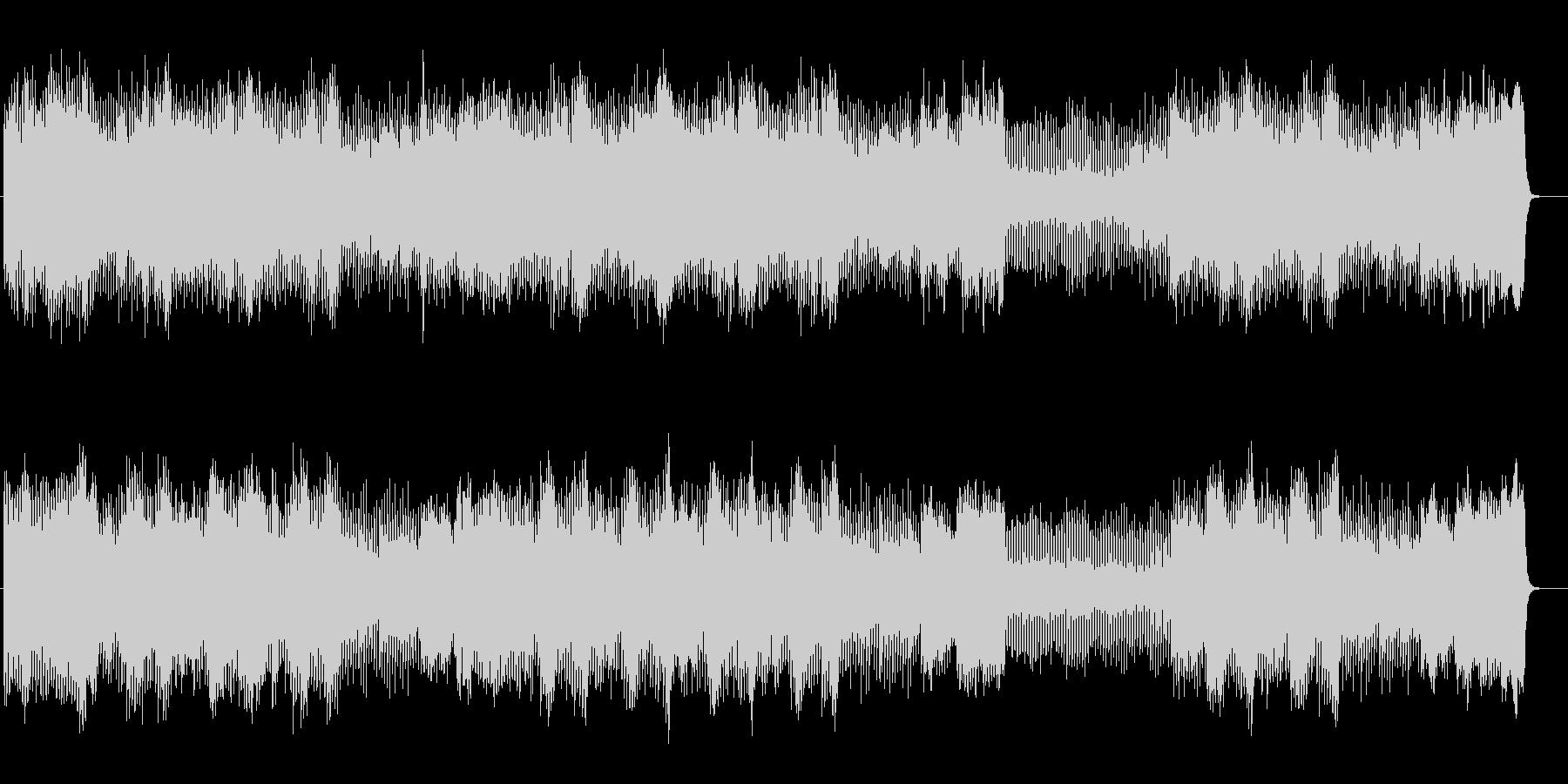 壮大な和音が連なるメロディのポップスの未再生の波形