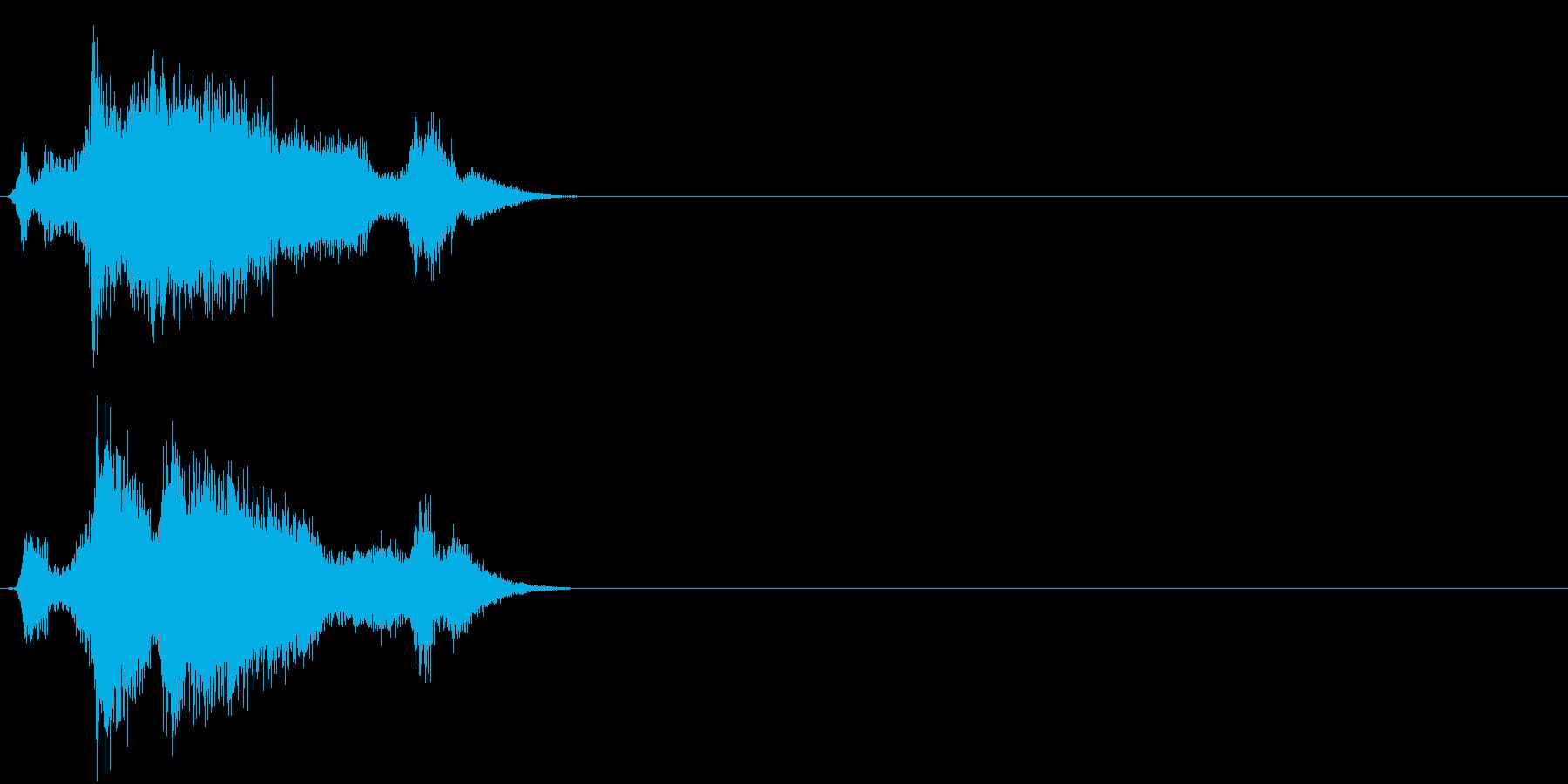 【ゲーム3】刀 ジャキン シャキン 金属の再生済みの波形