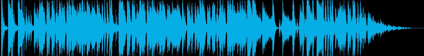 ショッピングをイメージ うきうきポップの再生済みの波形