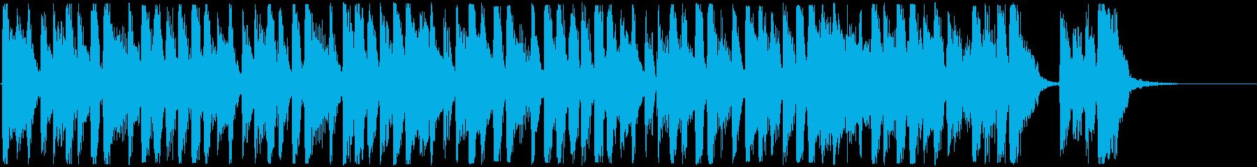 15秒のTVCMに。軽快なブラス系の再生済みの波形