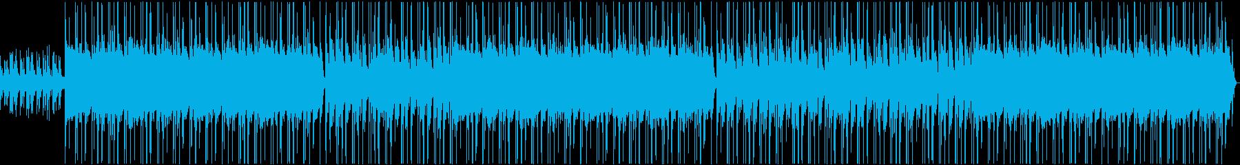 ダークでセクシー感あるナイトヒップホップの再生済みの波形