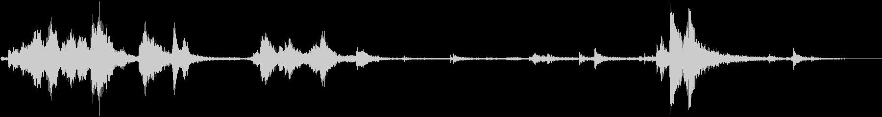 メタルセルドア:キージングル、ロッ...の未再生の波形