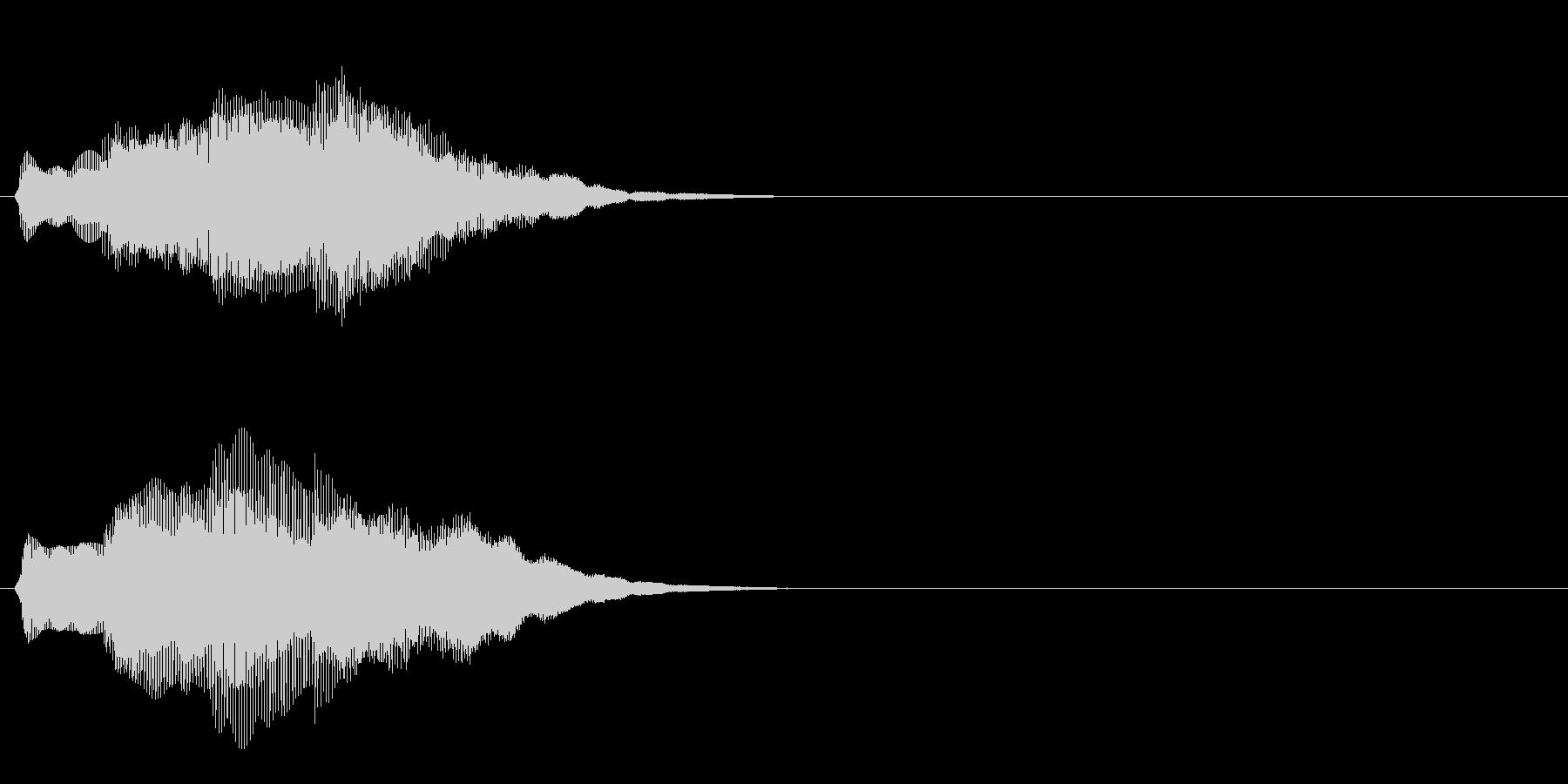 汎用 キラキラ系07(大) アイテム発見の未再生の波形