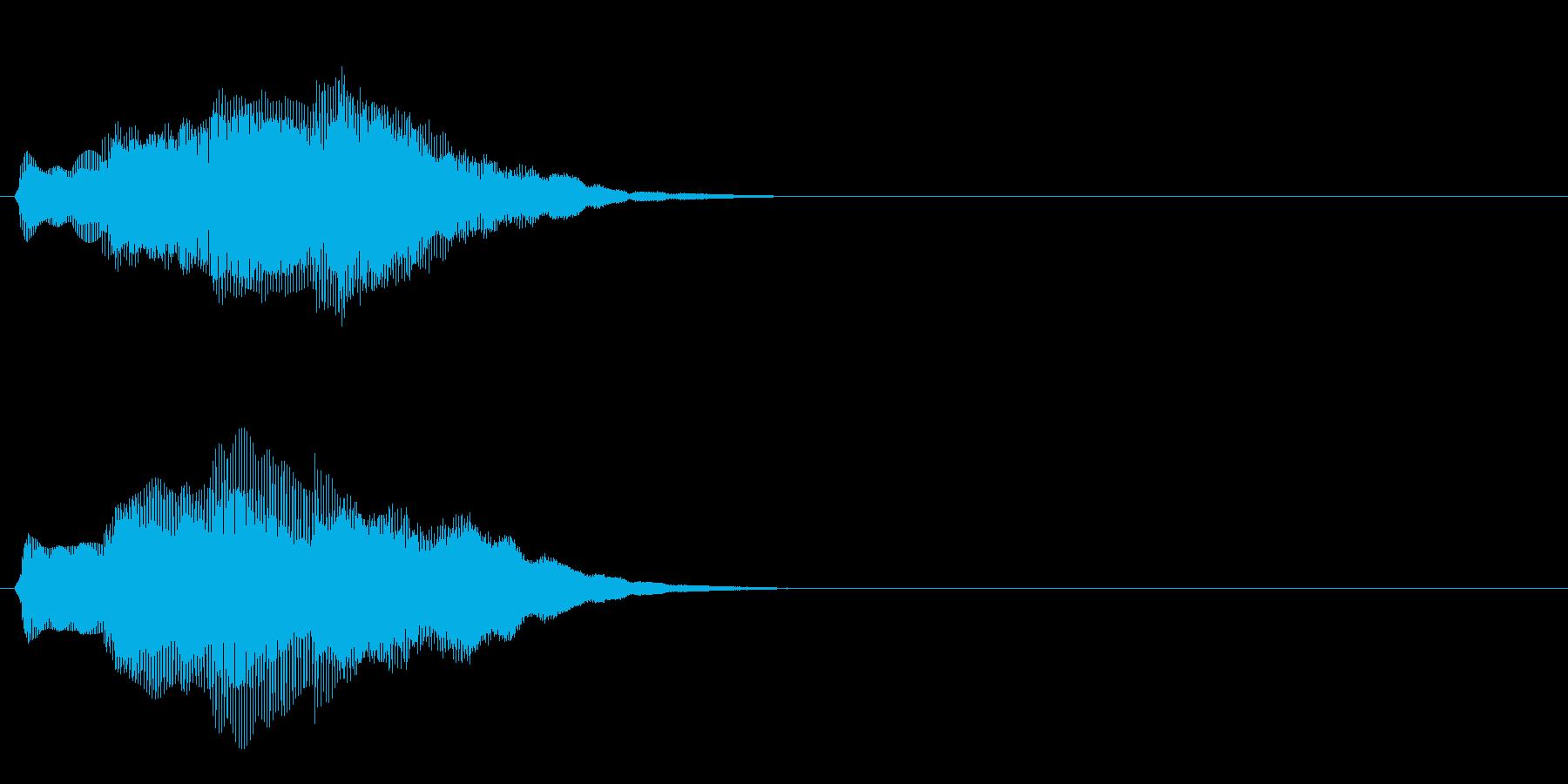 汎用 キラキラ系07(大) アイテム発見の再生済みの波形