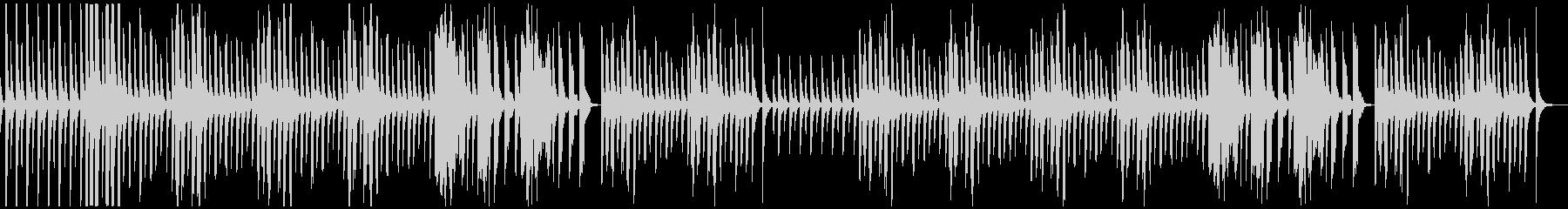 のんびり・ほのぼの・優しいBGMの未再生の波形