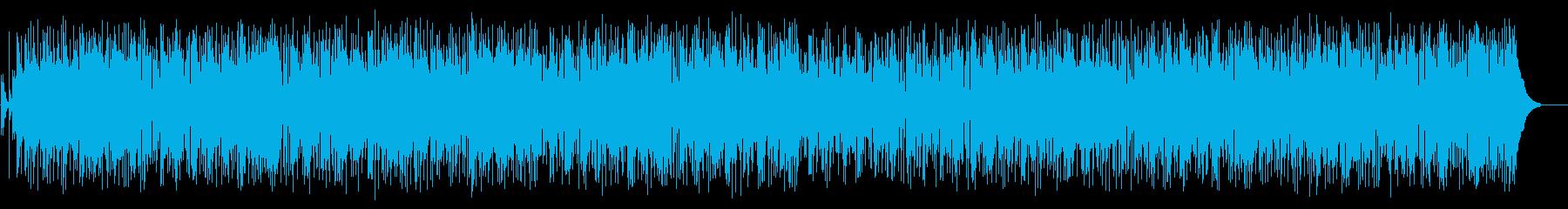 優雅でお洒落なFM風フュージョンの再生済みの波形