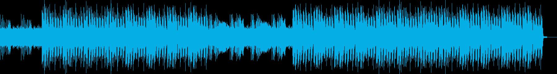 近未来的おしゃれ奇妙・ミステリアスEDMの再生済みの波形