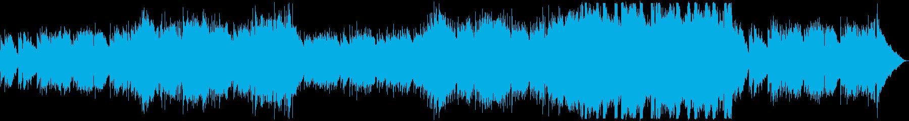 秋の夕暮れ・優しいフューチャーポップの再生済みの波形