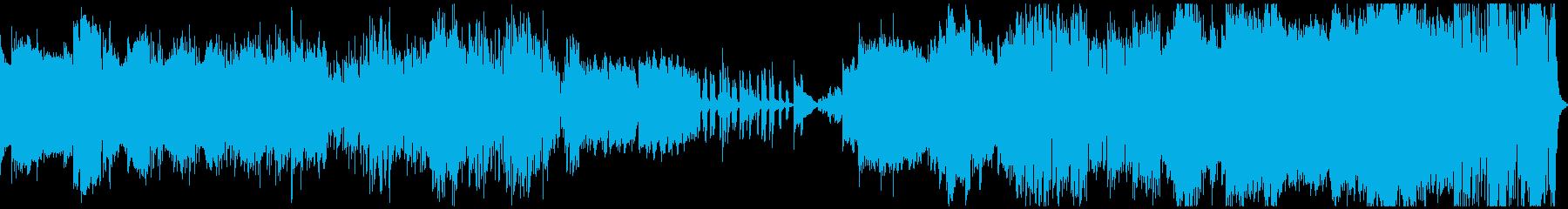青空で風船が好きなおじさんのテーマ曲の再生済みの波形