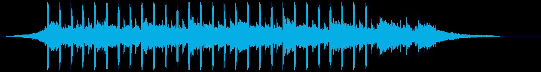 プレゼンテーション(ショート3)の再生済みの波形