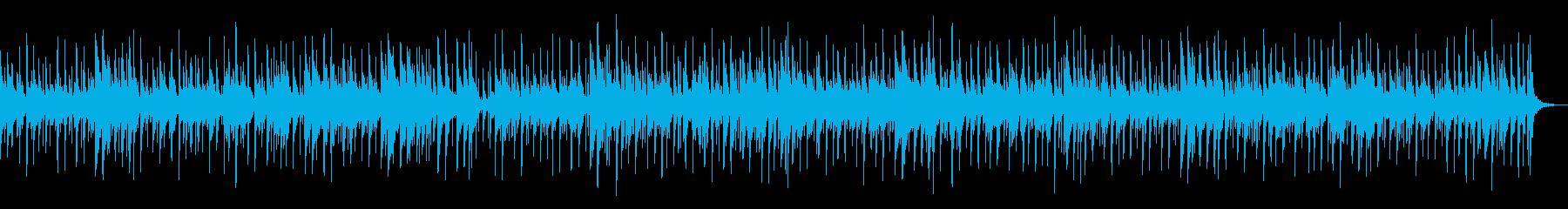 楽しい感じのピアノトリオのボサノヴァの再生済みの波形