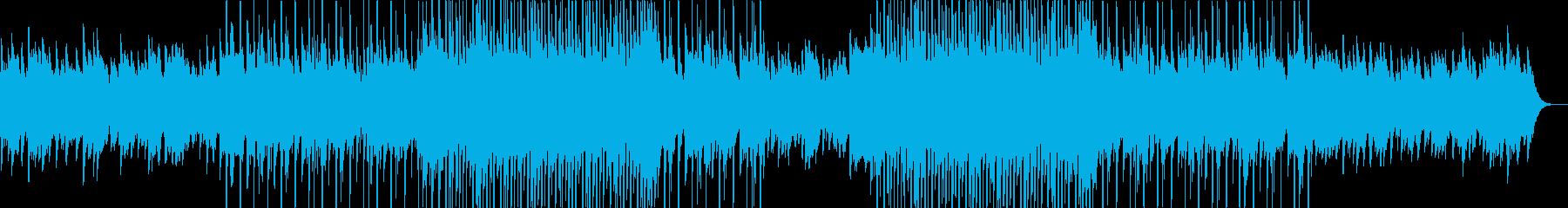 ローファイでミニマルな4つうちBGMの再生済みの波形