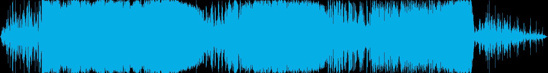 大きな電気放電、重い亀裂、電気、ア...の再生済みの波形