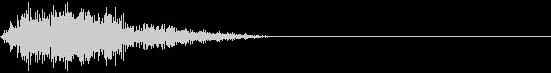 クリーチャー 発声 60の未再生の波形
