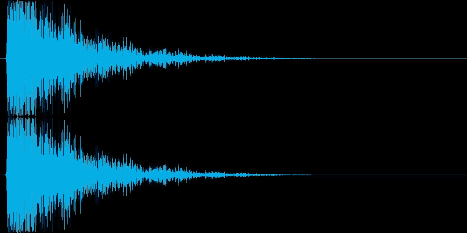 でゅるるるるる↓(テンションDOWN)の再生済みの波形