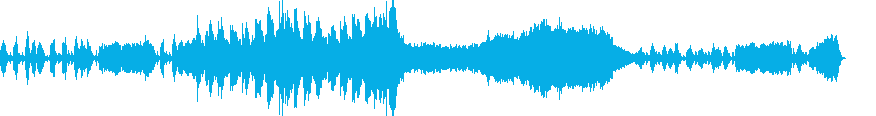 王・城・宮殿・ファンタジー映像BGMの再生済みの波形