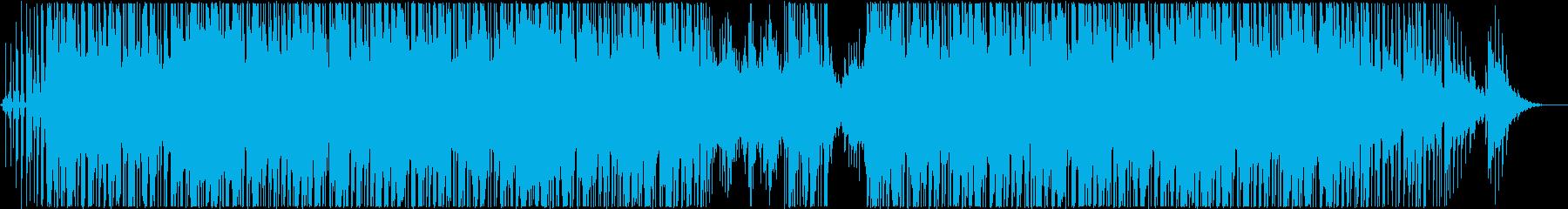 アンビエント感のあるヒップホップの再生済みの波形