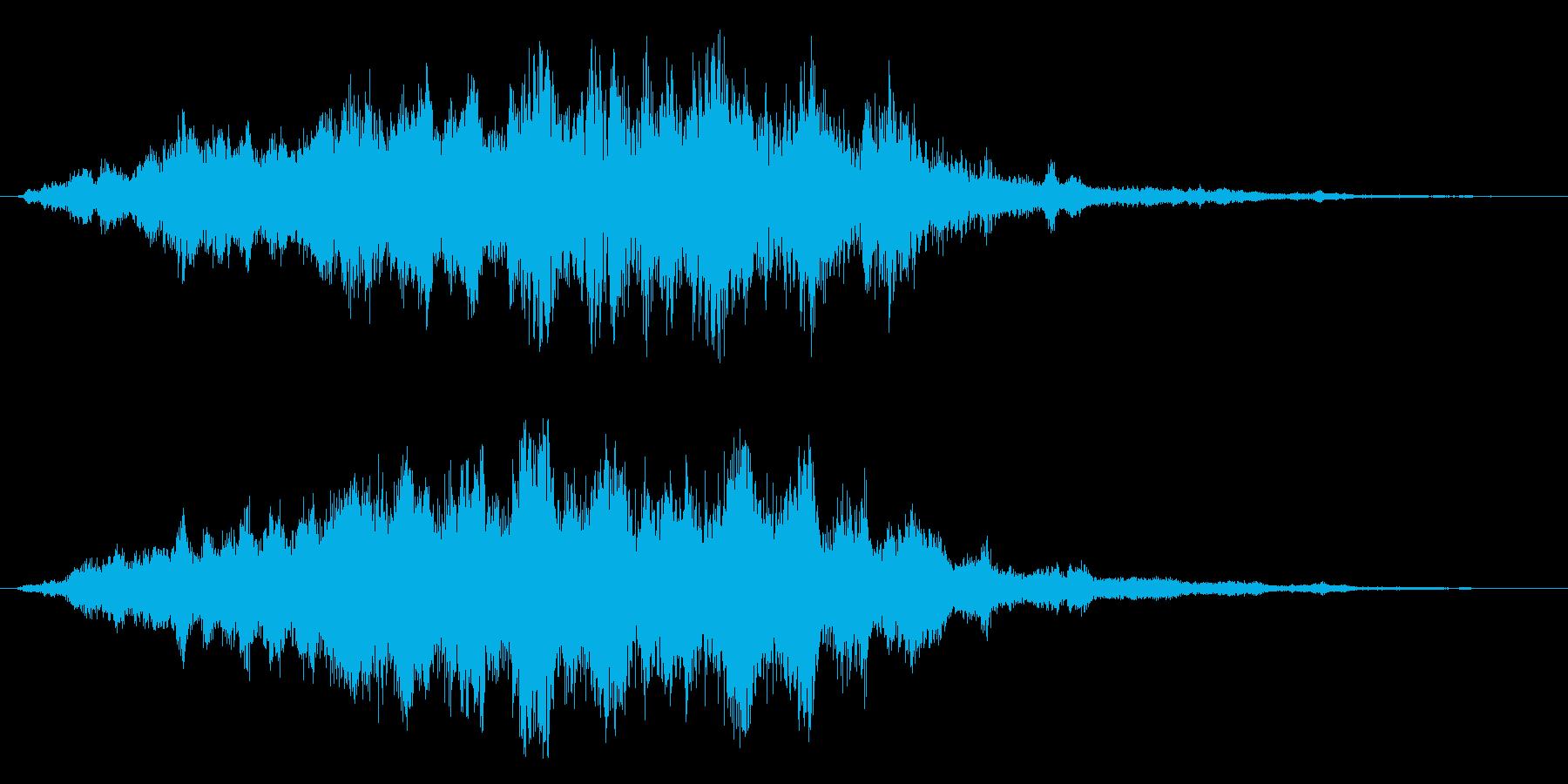 フワ~~~~~~~~~~~の再生済みの波形