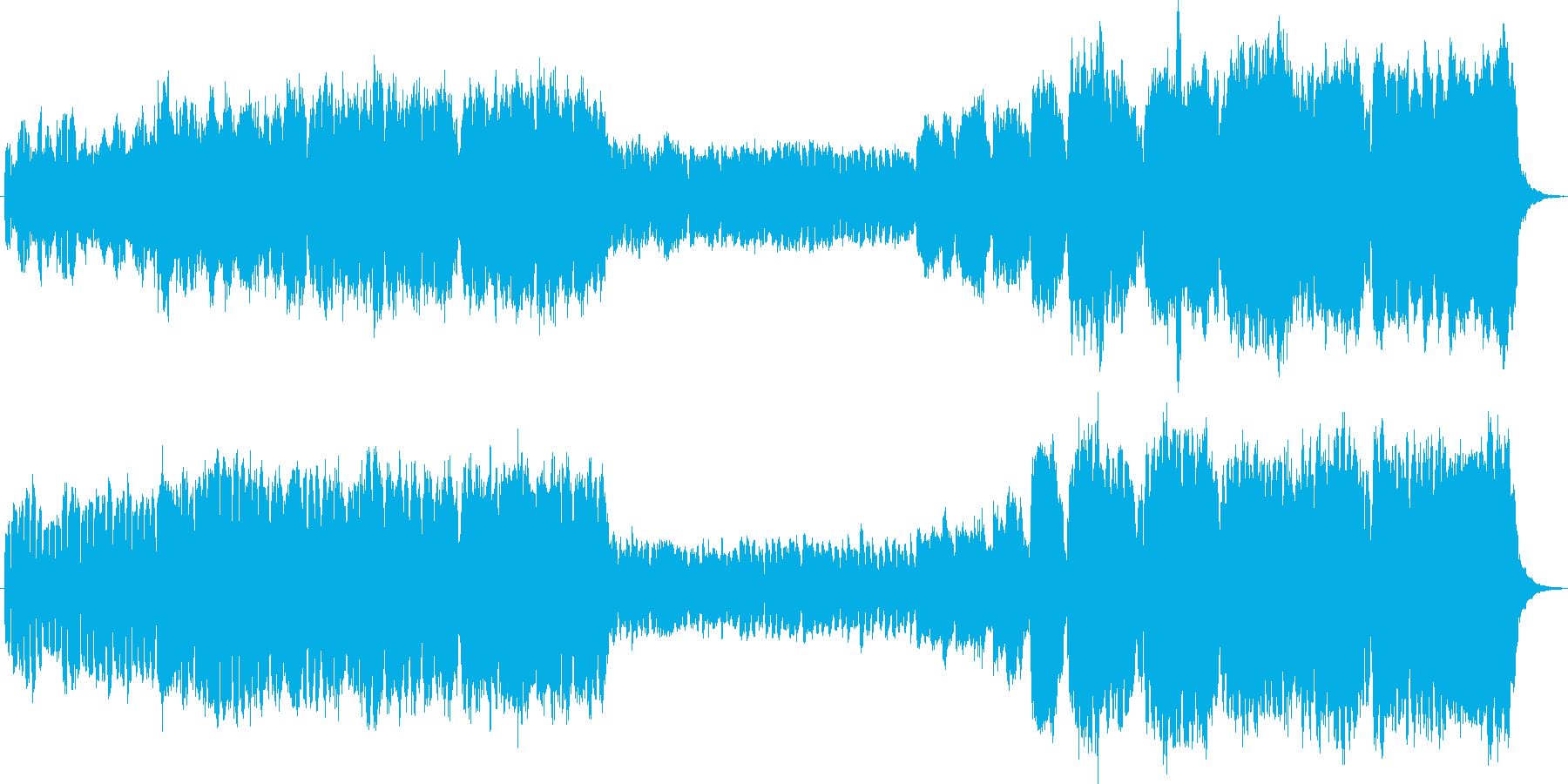 キリスト教会前奏曲オリジナルで荘厳です。の再生済みの波形