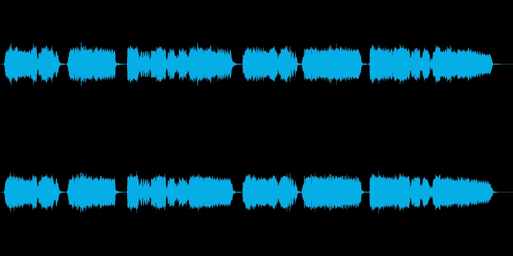 童謡「赤とんぼ」の篠笛独奏の再生済みの波形