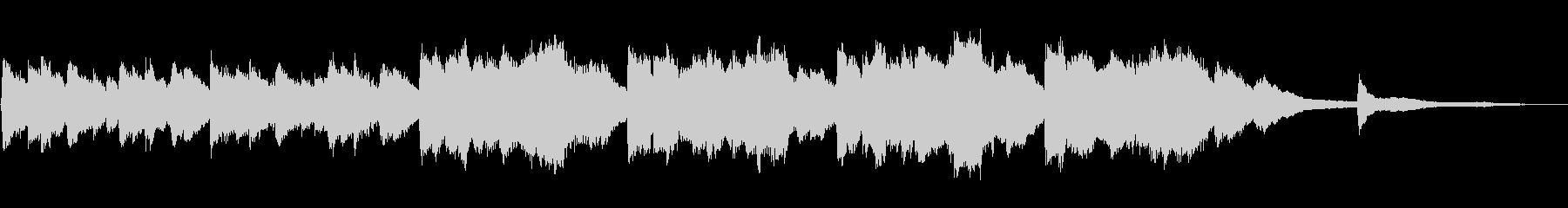 【30秒】朝焼けイメージのシンプルBGMの未再生の波形