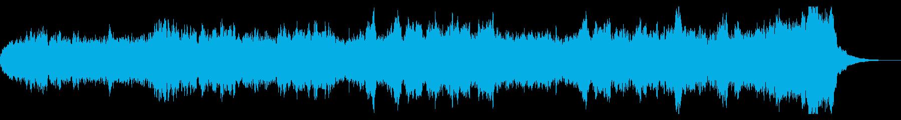 ファンタジーなオーケストラ 短めのBGMの再生済みの波形