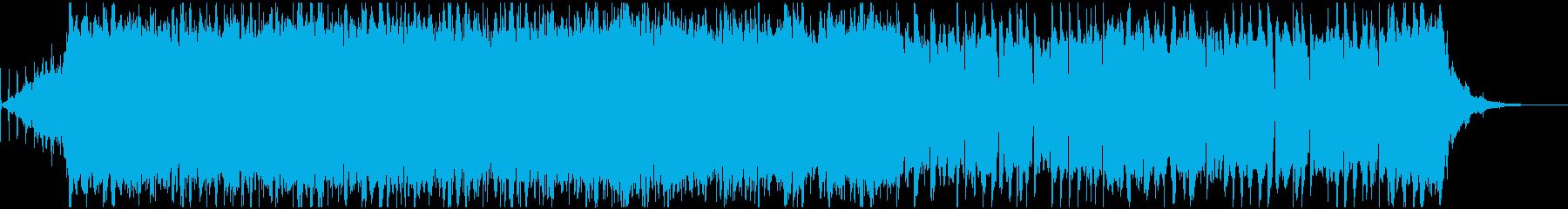 哀愁感漂うお洒落なBGMの再生済みの波形
