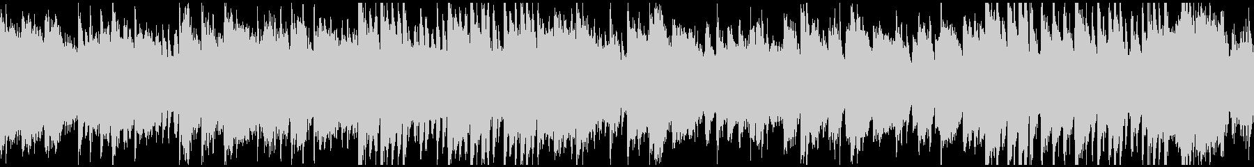 篠笛、ピアノ、和太鼓の曲 ※ループ仕様版の未再生の波形