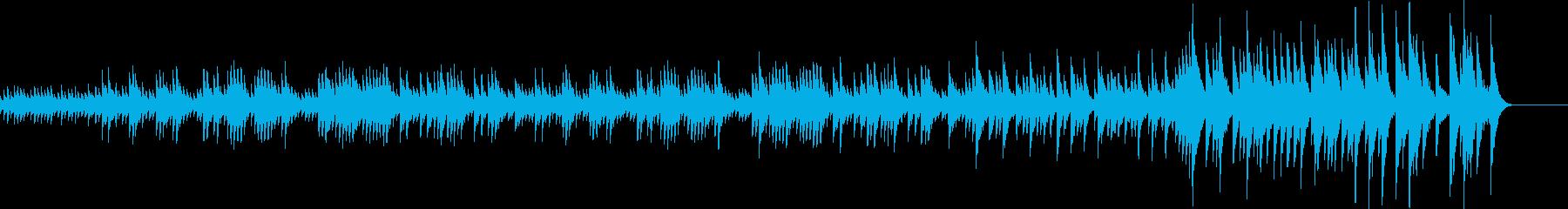 思い出をたどるメランコリックなメロディーの再生済みの波形