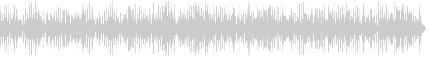 トランペットがムーディなボサノバBGMの未再生の波形
