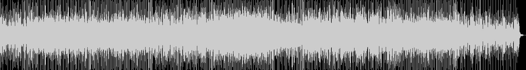 切ない曲調に軽快なリズムが乗ったBGMの未再生の波形