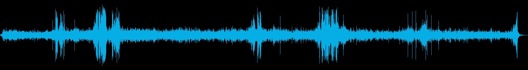 ヒューズシズル、フレア、バーンその...の再生済みの波形